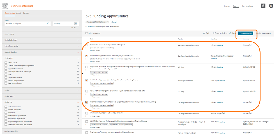 Funding opportunities - FI | Elsevier