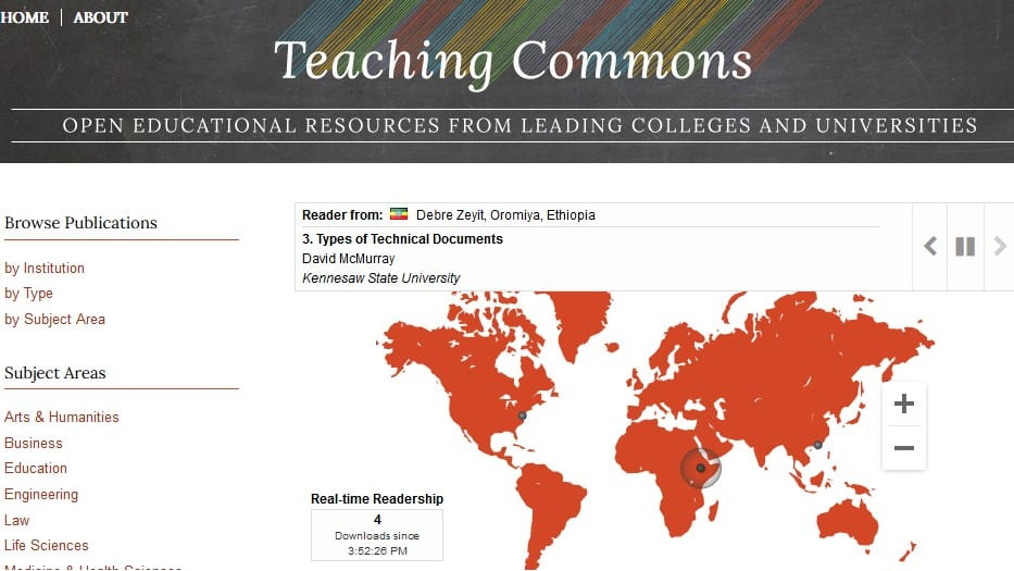 screenshot-page-of-teaching-commons | Elsevier