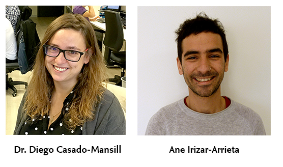 Diego Casado Mansilla and Ane Irizar-Arrieta