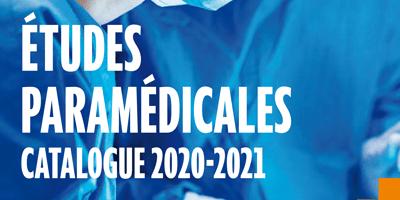 Le catalogue Études paramédicales 2020-2021