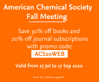 Elsevier discount at ACS Fall 2020