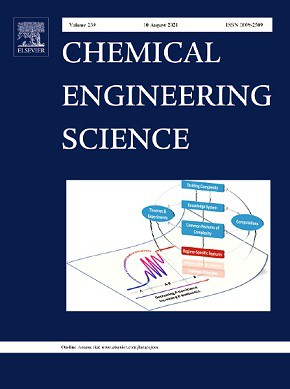 Chemical engineering science journal cover