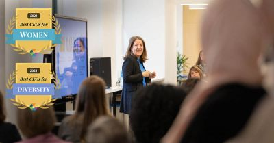Elsevier's Kumsal Bayazit named one of Best CEOs for Women and Diversity