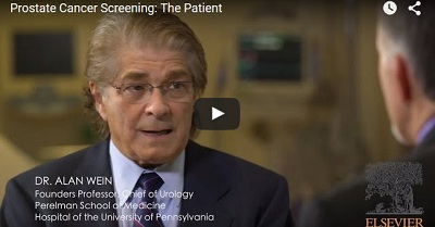 Prostate cancer screening videos