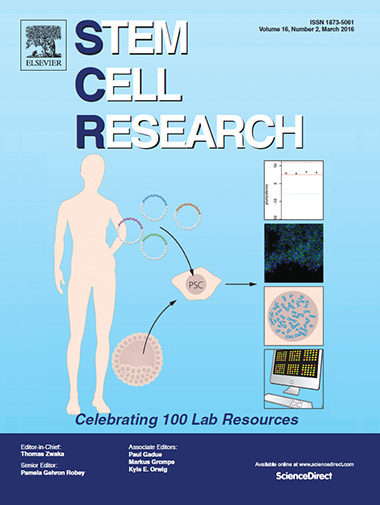 Stem Cell Research cover