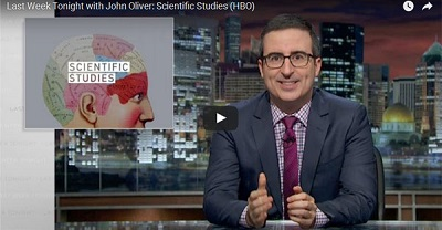 From scientific study to public opinion — is John Oliver right?