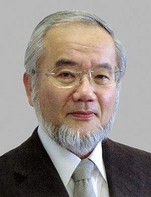 Prof. Yoshinori Ohsumi, PhD (Credit: ANC)