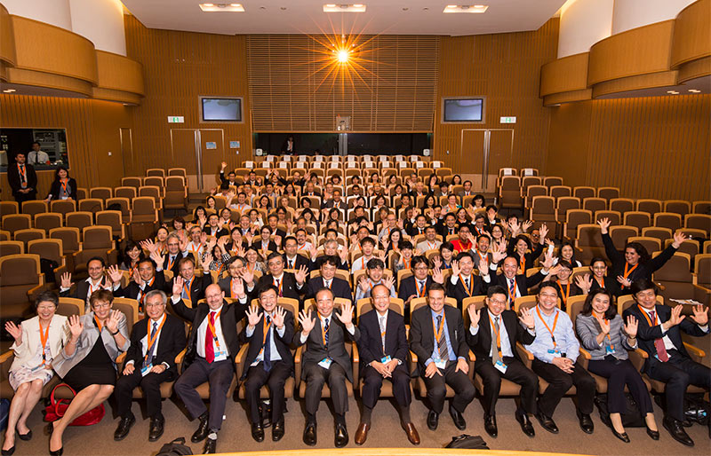 Speakers and delegates at the 3rd Annual Elsevier Asia Pacific Research Intelligence Conference.