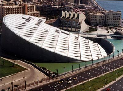The Library of Alexandria (Source: bibalex.org)