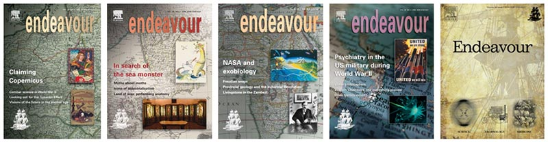 A sample of Endeavour covers