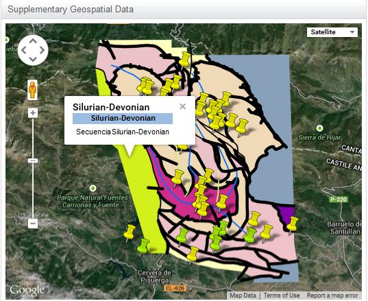 Figure 3: An example of an Interactive Map, created by Daniel Pastor Galan.