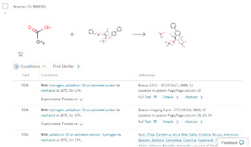 Chemistry data and chemical literature - Reaxys | Elsevier