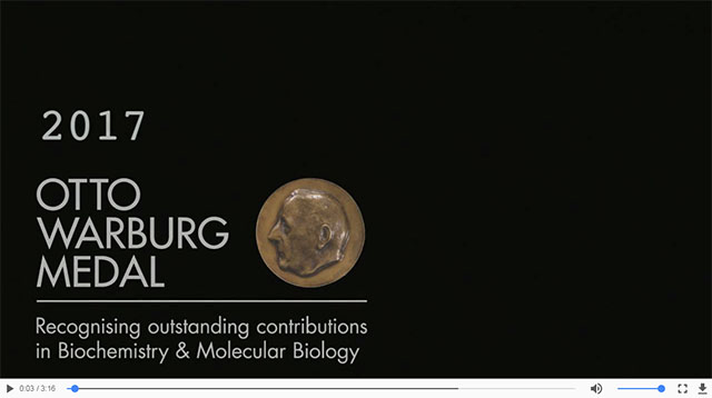 Otto Warburg Medal video