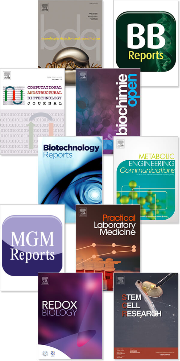 gold selection Biochemistry, Genetics and Molecular Biology titles