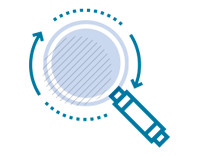 vector illustration of deep search | Elsevier