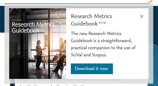 RIDE - Research Metrics Guidebook | Elsevier
