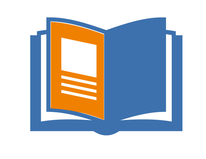 Run of book icon