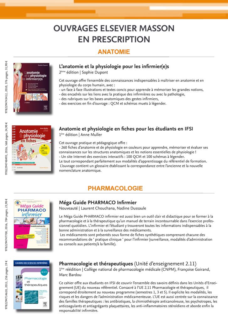 Ouvrages Elsevier Masson en prescription_1