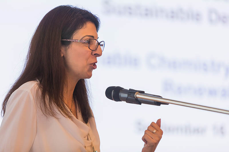 Dr. Ramia Albakain, Associate Professor in the University of Jordan Department of Chemistry, devised an alternative method for the treatment of hospital wastewater.