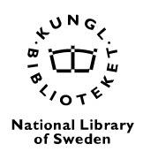 National Library of Sweden (Bibsam) logo