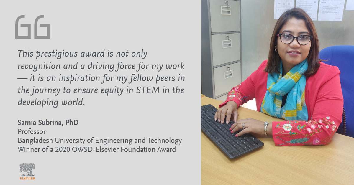 Quote by Sumia Subrina, PhD, Electrical Engineering (Bangladesh)
