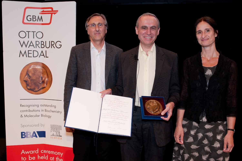 2015 Otto Warburg Medal