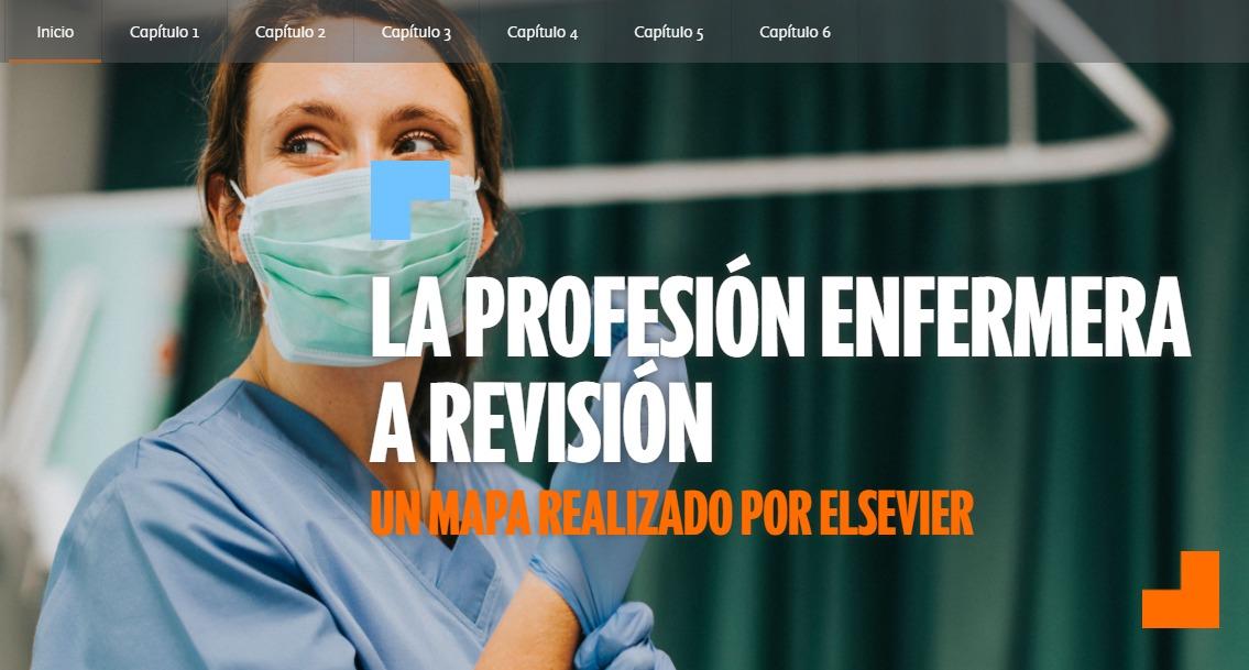 Informe. 'La profesión enfermera a revisión. Un mapa realizado por Elsevier'