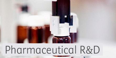Image illustrating medicine bottles for pharmaceutical R&D