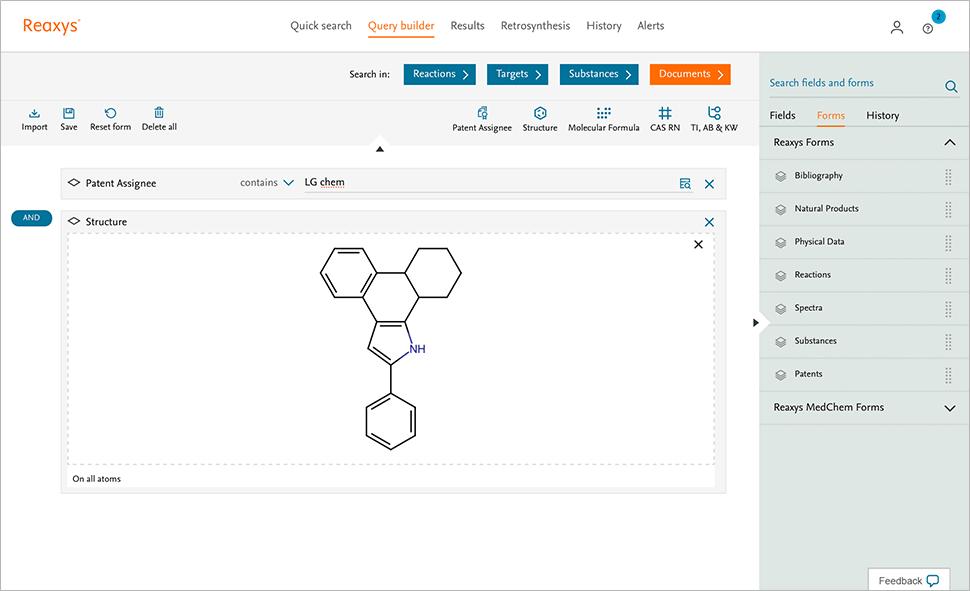 Query builder screenshot
