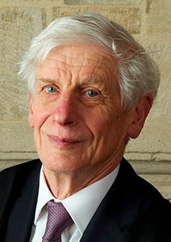 Prof. David Thouless, PhD (Photo © Trinity Hall, University of Cambridge)