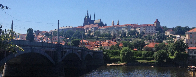 View of Prague Castle (Photo by Christopher Capot)