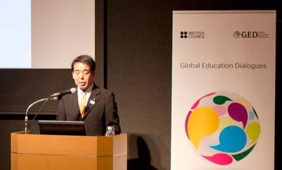 Hakubun Shimomura, Minister of Education