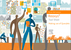 Making use of querylets - Reaxys |Elsevier Solutions