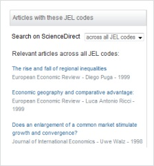 JEL-Code Article Recommender