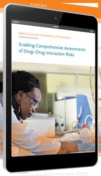 Permettre des évaluations détaillées des risques d'interactions médicamenteuses - PharmaPendium | Elsevier