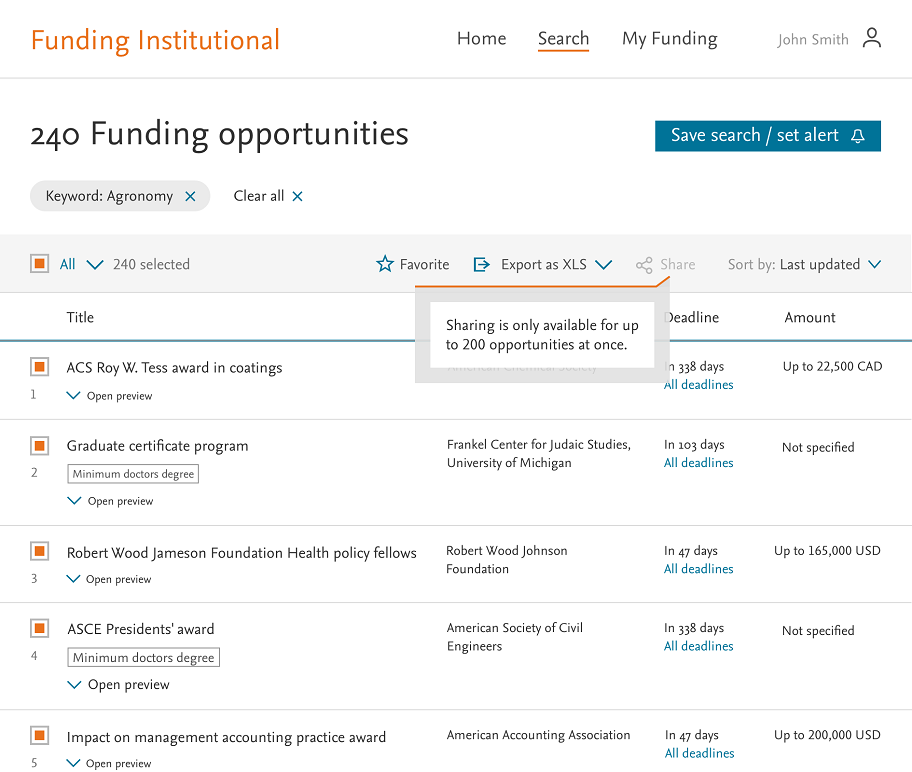 Funding opportunities - Releases | Elsevier