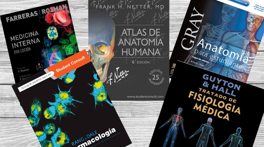 Los 5 libros indispensables del estudiante de medicina
