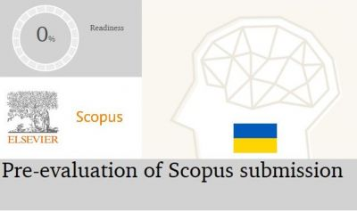 Scopus Journal Pre-evaluation Programme is being launched in Ukraine
