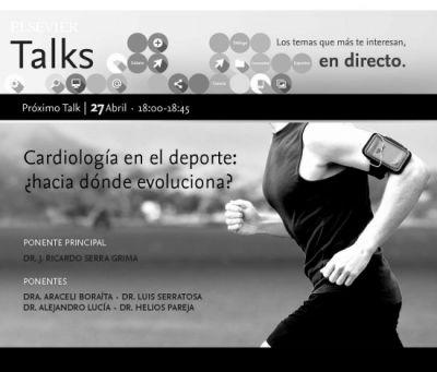 Celebramos la primera edición de ELSEVIER TALKS: 'Cardiología en el deporte, ¿hacia dónde evoluciona?'