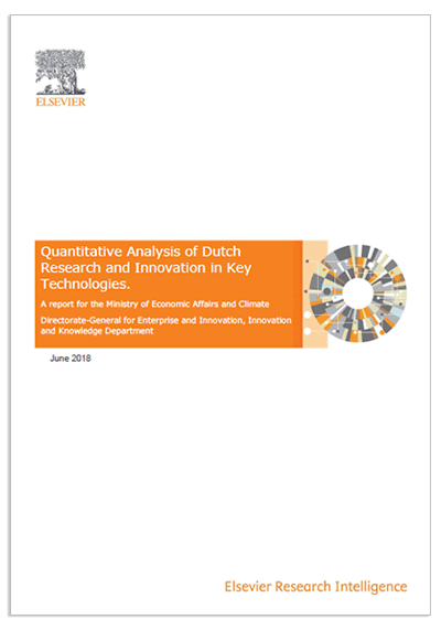Quantitative Analysis of Dutch Research and Innovation in Key Technologies.