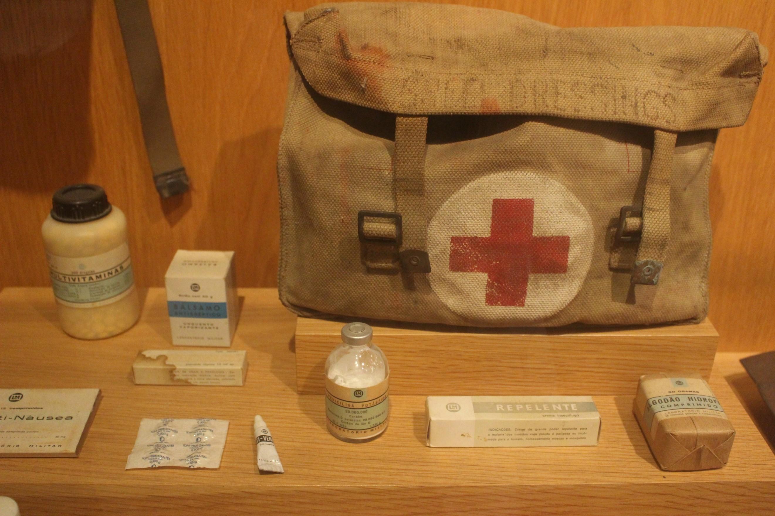 Farmacia en trinchera