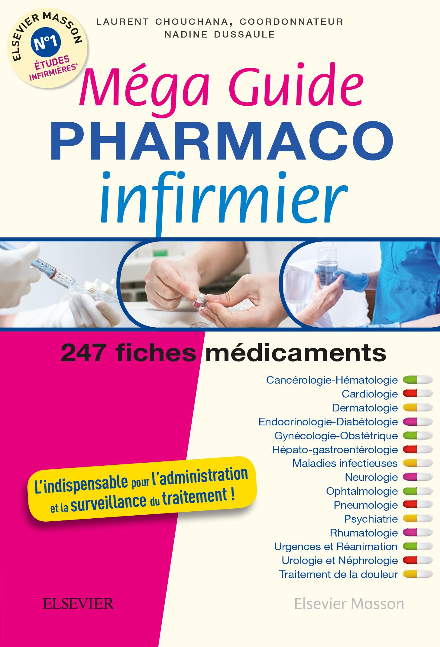 Megaguide Pharmaco Infirmier