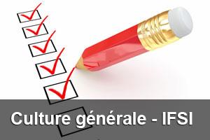 IFSI – QCM Concours – culture générale