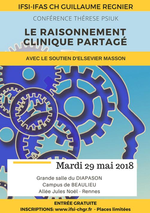 Conférence débat à l'IFSI Regnier de Rennes