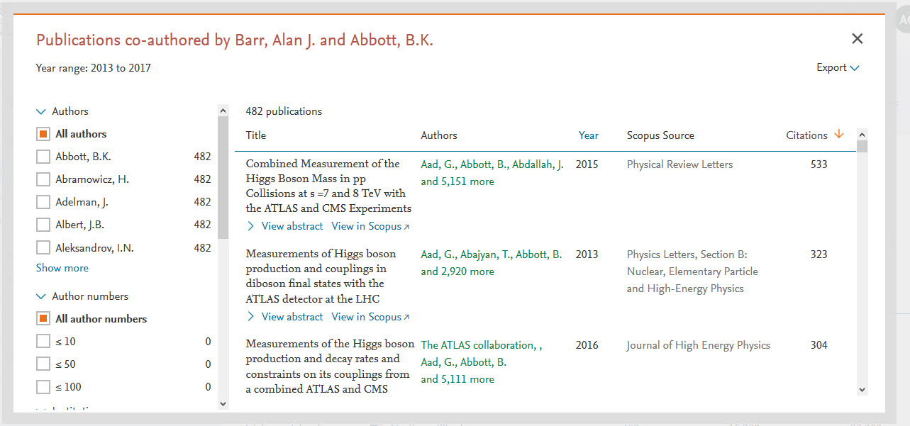Delve further into your co-authored publications