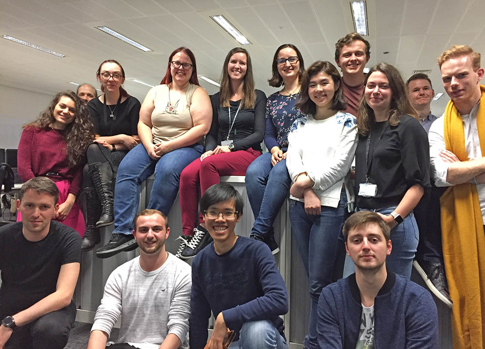 The Recommenders Team at Elsevier is global. Recently they came together for a meeting in London.