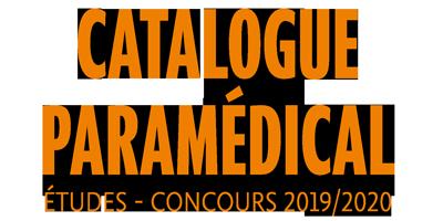 Le catalogue paramédical 2019 est paru