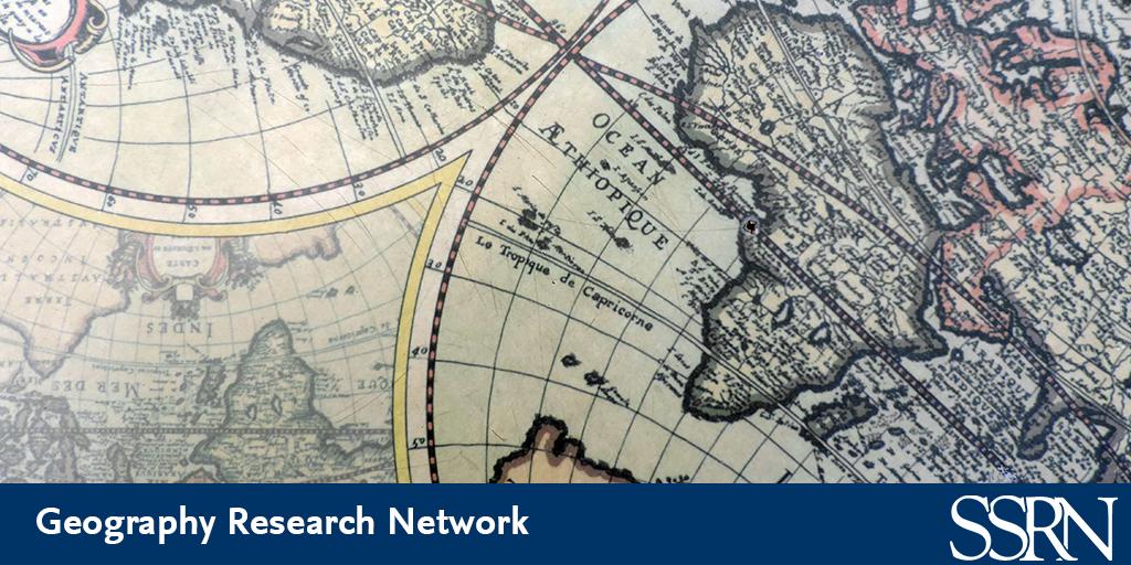 GeographyRN - SSRN | Elsevier