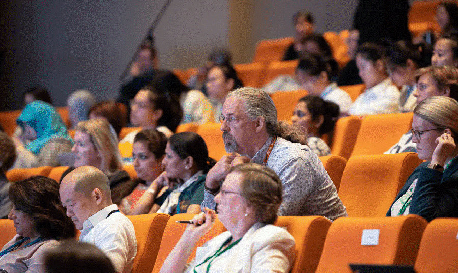 Delegates at the Gender Summit Asia Pacific (GS16) in Singapore.