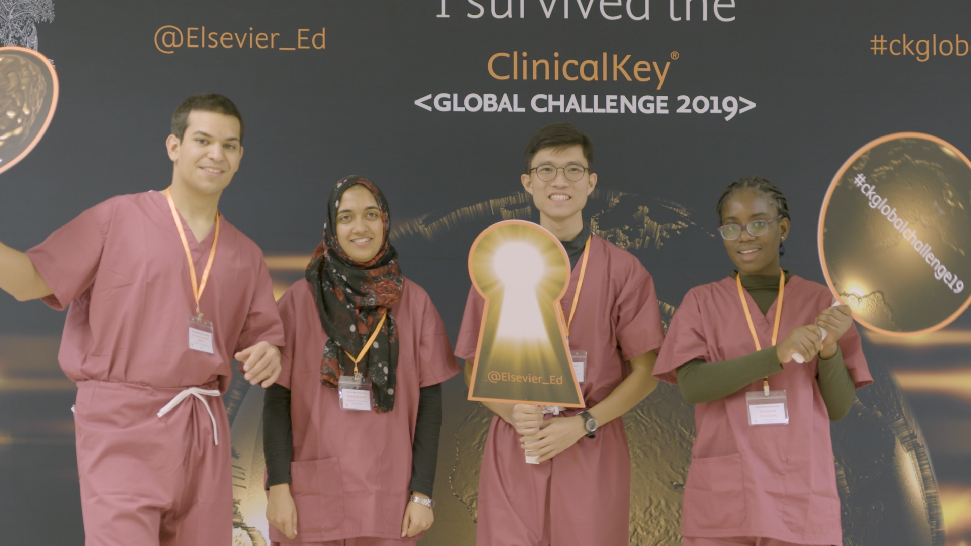 The ClinicalKey Global Challenge Winning Team